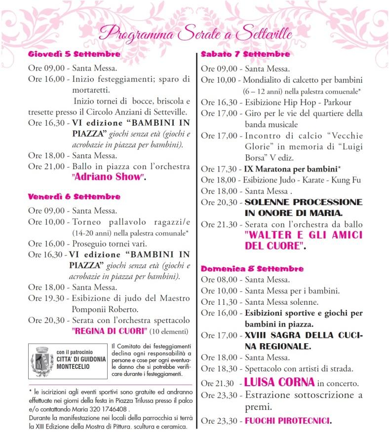 programma festa 2013