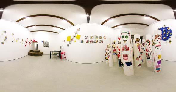3.Galleria MuGa, Tre colori sul como¦Ç