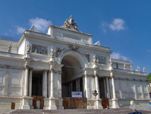 Roma - Palazzo delle Esposizioni o Pala Expo