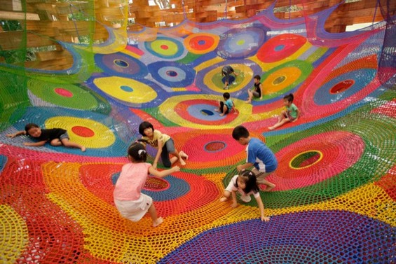 toshiko-horiuchi-macadam-crochet-knit-playground-playscape1