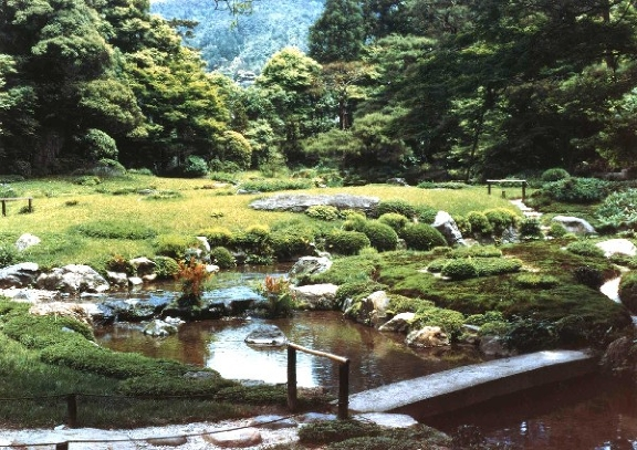 Giardino dell istituto giapponese for Giardini zen giapponesi