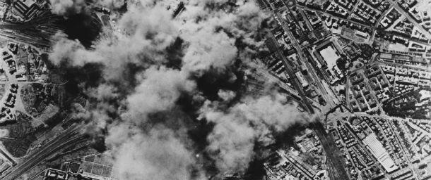Il-bombardamento-di-Roma
