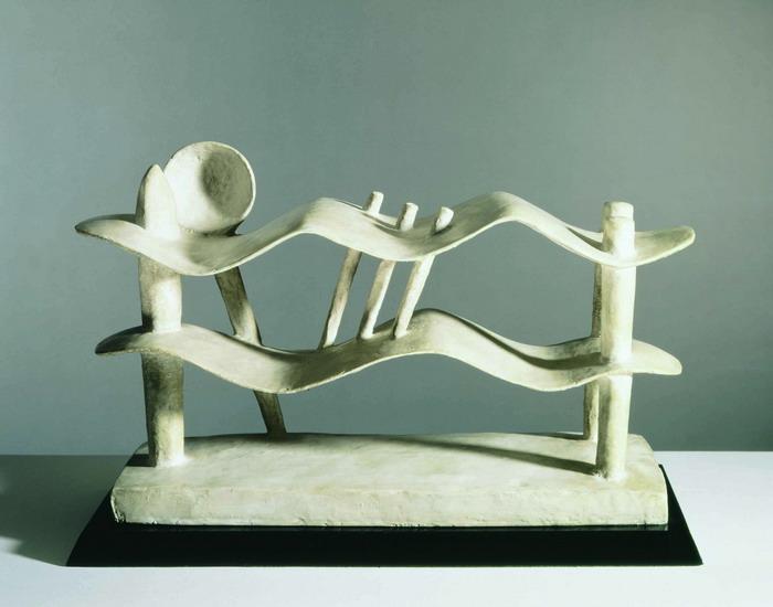 Alberto Giacometti: Femme couchée qui rêve, 1929