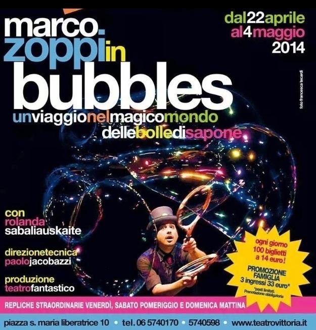 Marco Zoppi Bubbles Vittoria