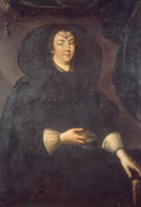 Ritratto di Donna Olimpia, artista ignoto, XVII secolo