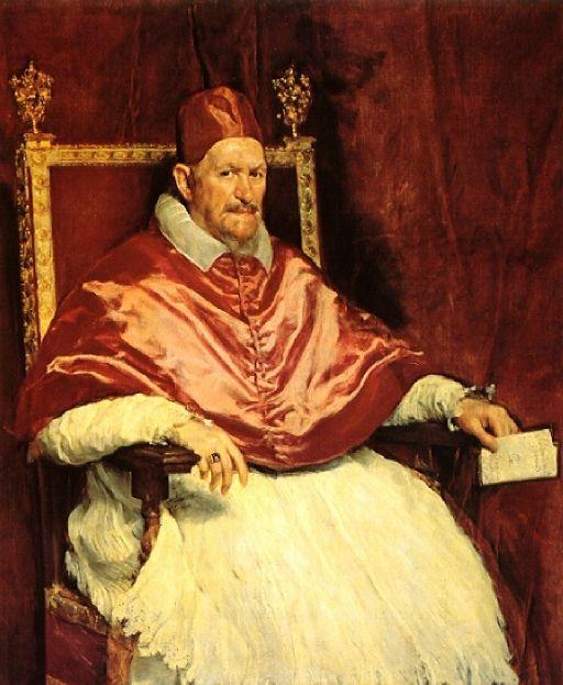 Ritratto di papa Innocenzo X Diego Velasquez 1650, Galleria Doria Pamhilj
