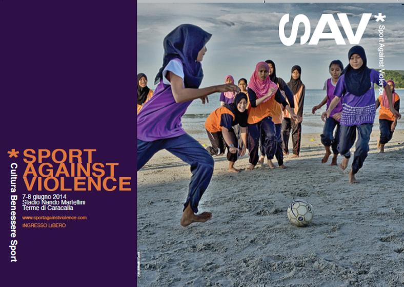 SAV Sport Against Violence Locandina