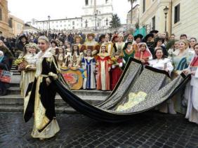 palio velluto carnevale romano