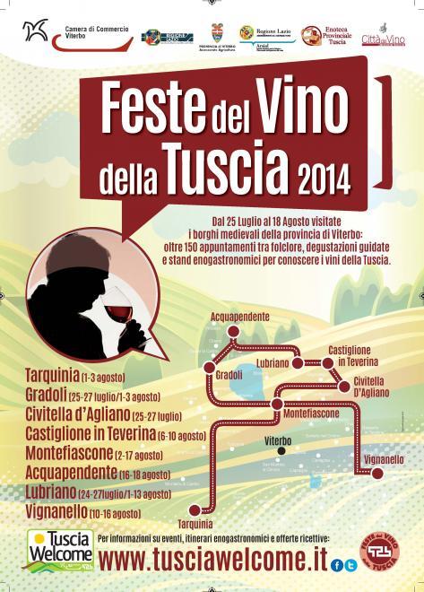 feste del vino 2014 tuscia