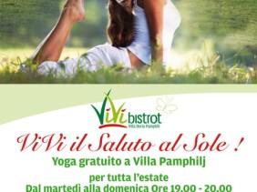yoga gratis Villa Pamphilj