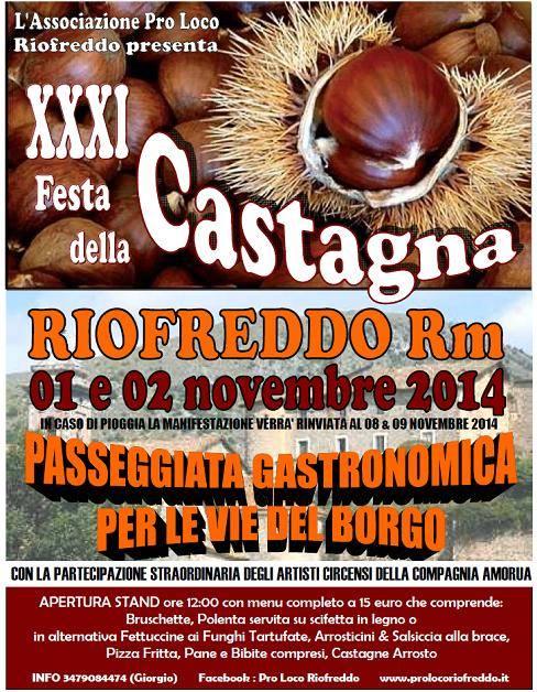 XXXI Festa della Castagna 2014
