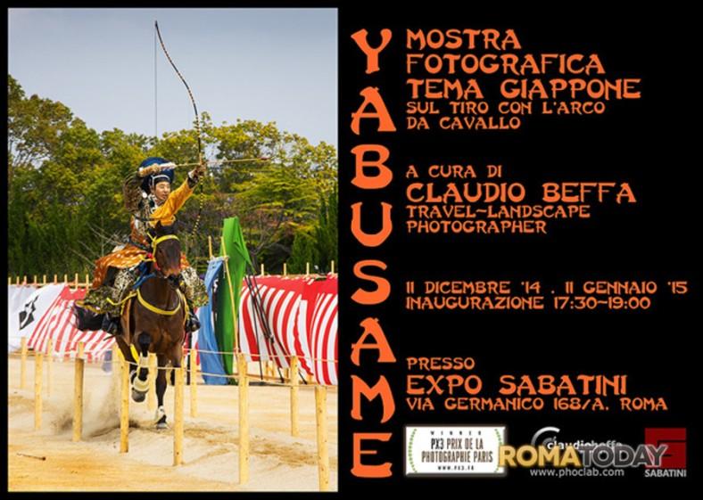 mostra fotografica giappone di claudio beffa- lo yabusame