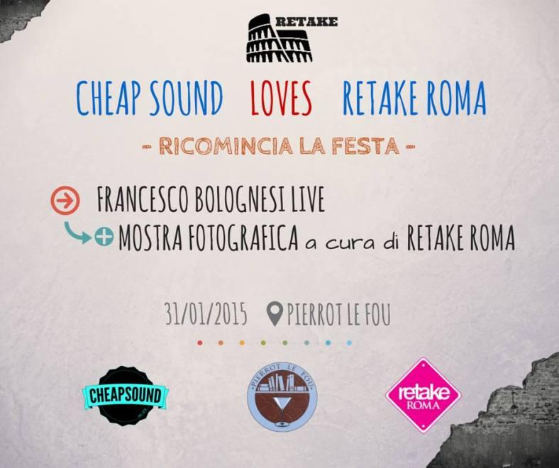 Cheap Sound LOVES REtake Roma_Ricomincia la festa_31 gennaio