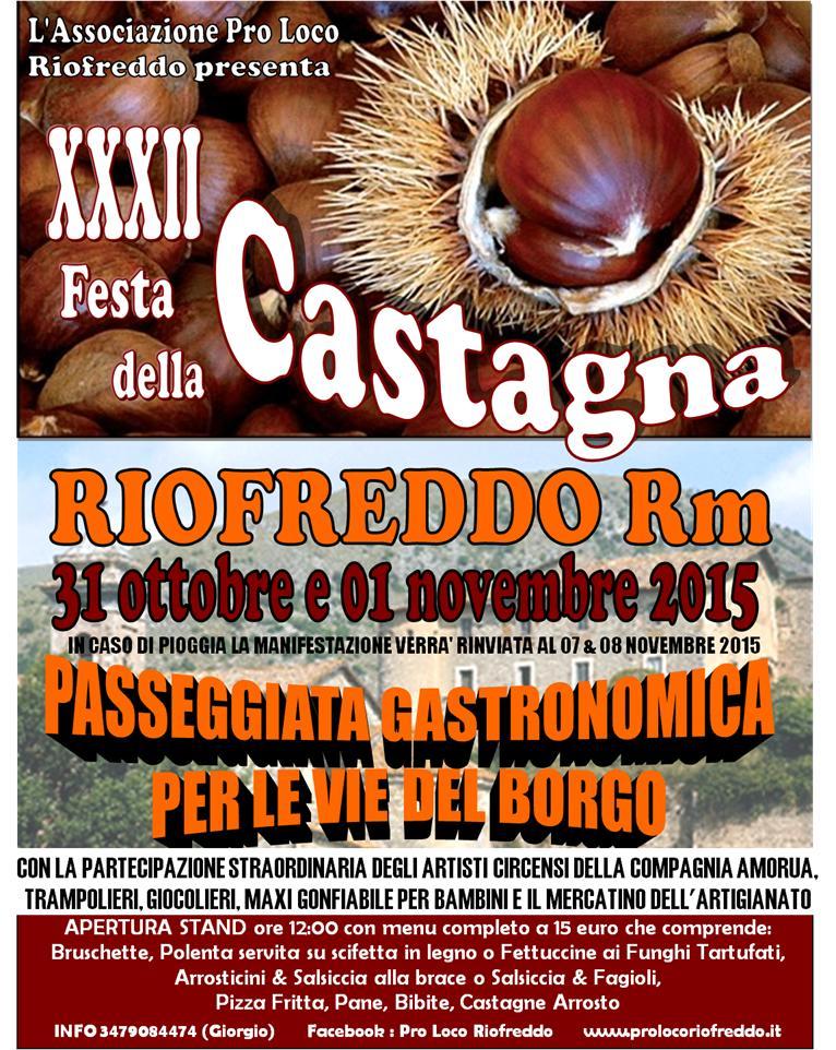 XXXII Festa della Castagna 2015