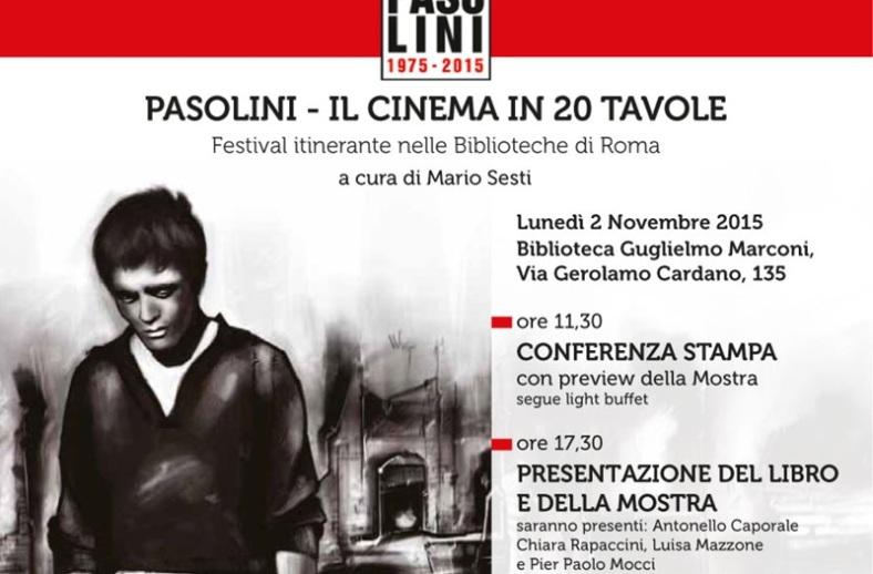 pasolini - il cinema in 20 tavole